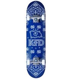 """Skateboard KFD Bandana Set 7.75 """"Navy"""