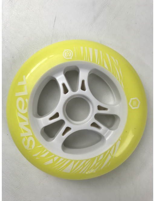 Kolečka Powerslide Swell Yellow (1ks)