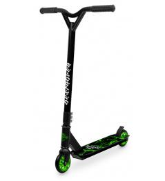 Street Surfing DESTROYER Green Lightning freestyle scooter