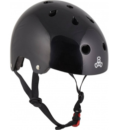 Helma Triple Eight Brainsaver XS-S Black Glossy