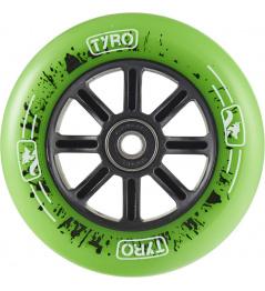 Wheel Longway Tyro Nylon Core 110mm green