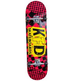 "Skateboard KFD Ransom Set 8.25 ""Red"