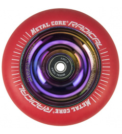 Metal Core Radical Rainbow 110 mm castor red