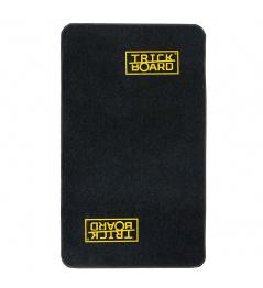 Trickboard pad 110 x 200 cm, black with logo