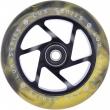 Striker Lux Scooter Wheel (110mm   Black / Yellow)