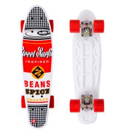 Skateboard Street Surfing POP BOARD Black Dot Souper