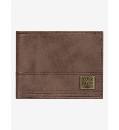 Quiksilver Wallet New Stitchy Tri-Fold 900 csd1 chocolate brown 2020 vell.L