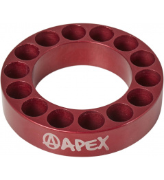 Headset spacer Apex 10mm red