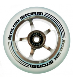 Metal Core Storm 100 mm castor transparent