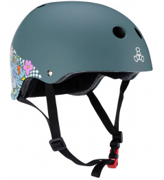 Helmet Triple Eight Lizzie Armanto Sweatsaver XS-S Gray
