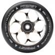 Fasen 120 mm silver wheel black