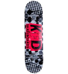 """Skateboard KFD Ransom Set 8 """"White"""