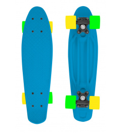 Skateboard FIZZ BOARD Blue, Orange PU, blue