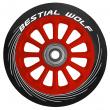 Bestial Wolf Pilot Wheel Red