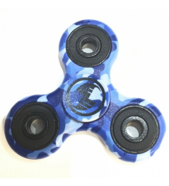 Scootshop Fidget Spinner camo blue