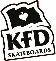 Sticker KFD Logo Black