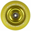Metal Core Radical Fluorescent 110 mm yellow wheel