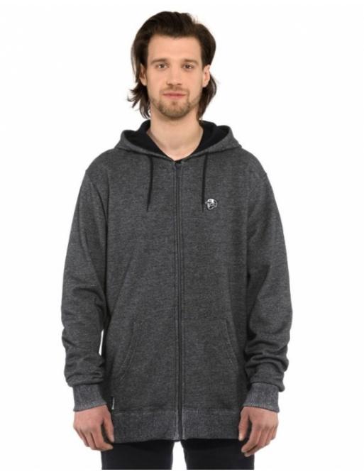 Horsefeathers Joshua sweatshirt black melange 2021 vell.L