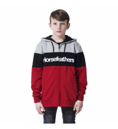 Sweatshirt Horsefeathers Trevor lava red 2020 children's vell.XL