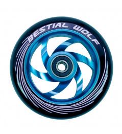 Bestial Wolf Twister wheel 110mm blue