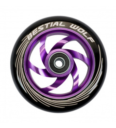 Bestial Wolf Twister wheel 110mm purple
