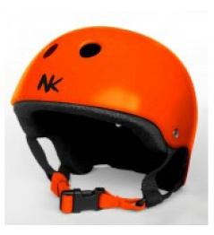 Nokaic helmet orange