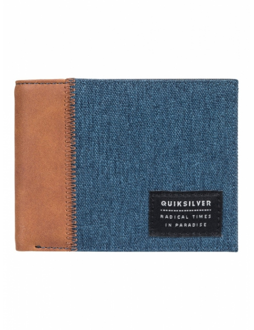 Quiksilver Freshness Plus Wallet 645 bsth blue nights heather 2018 vell.M