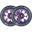 Wheels North Pentagon 120mm violet 2pcs