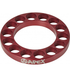 Headset spacer Apex 5mm red
