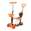 Koloběžka tříkolová NILS EXTREME HLB07 3v1 oranžová
