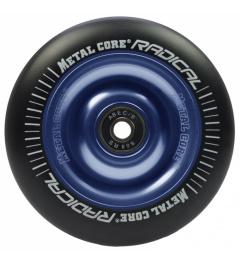 Metal Core Radical 110 mm wheel black-blue