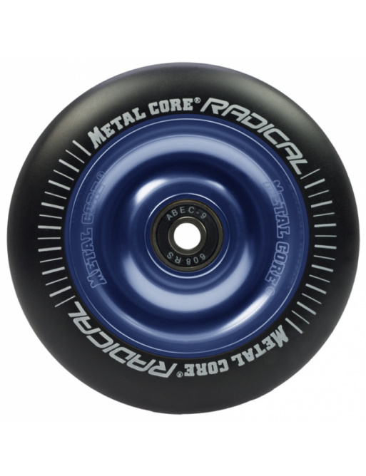 Metal Core Radical 110 mm wheel black-blue