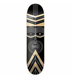 Meatfly Zulu Board SK8 Deck A / black wood 2019 vell.8,1