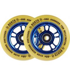 Wheels North Wagon 110mm Sky / Gum 2pcs