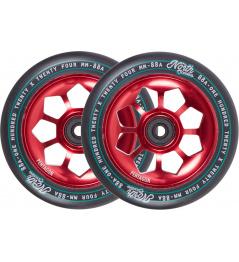 Wheels North Pentagon 120mm red 2pcs