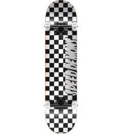"Skateboard Speed Demons Checkers 8 ""Black"
