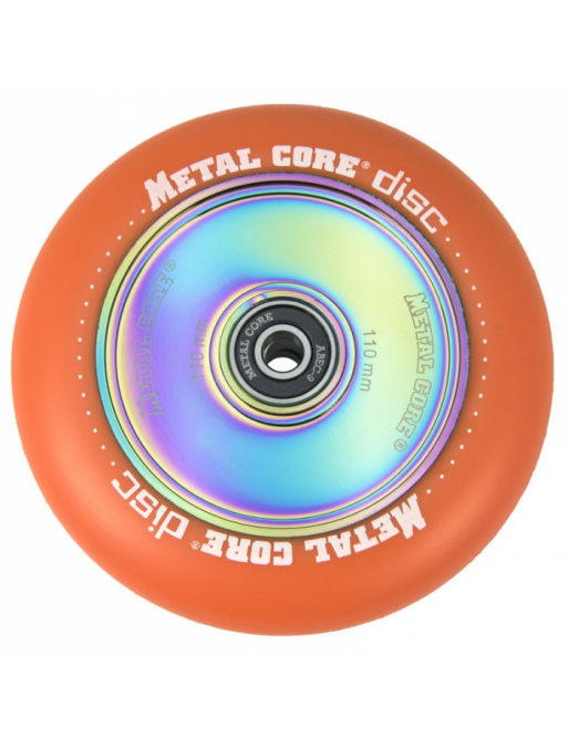 Metal Core Disc 110 mm orange wheel