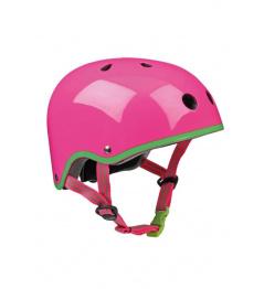 Micro Neon Pink Helmet