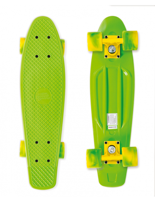 Street Surfing Skateboard BEACH BOARD California Dream, green