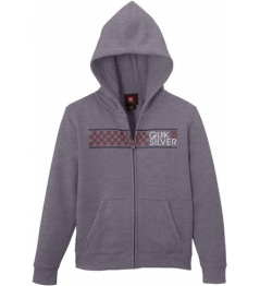 Quiksilver Sweatshirt Hood Zib God 024 kpwh medium gray heather 2014/15 vell.XL / 14let /