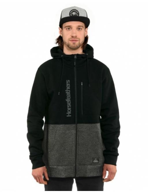 Sweatshirt Horsefeathers Zach black 2021 vell.M