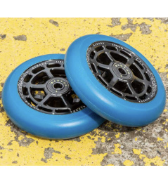 Wheels UrbanArtt Civic 110x24mm Black / Arctic Blue 2pcs