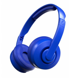 Sluchátka ScullCandy Cassette Wireless On-Ear cobalt blue 2019/20