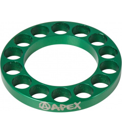 Headset spacer Apex 5mm green