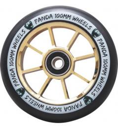 Panda Spoked V2 wheel 100mm Gold Chrome