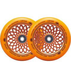 Root Lotus wheels 110x24mm Radiant Orange 2pcs