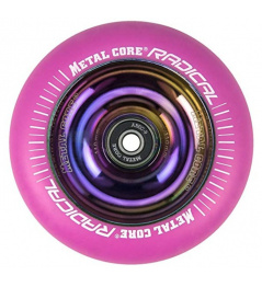 Metal Core Radical Rainbow 110 mm circle pink