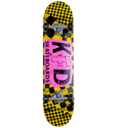 "Skateboard KFD Ransom Set 7.75 ""Yellow"
