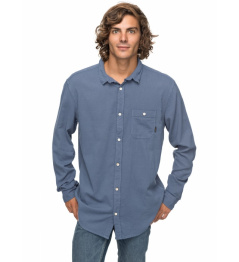 Quiksilver Shirt New Time Box 633 was0 vintage indigo 2018 vell.M