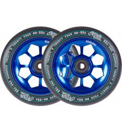 Wheels North Pentagon 120mm blue 2pcs